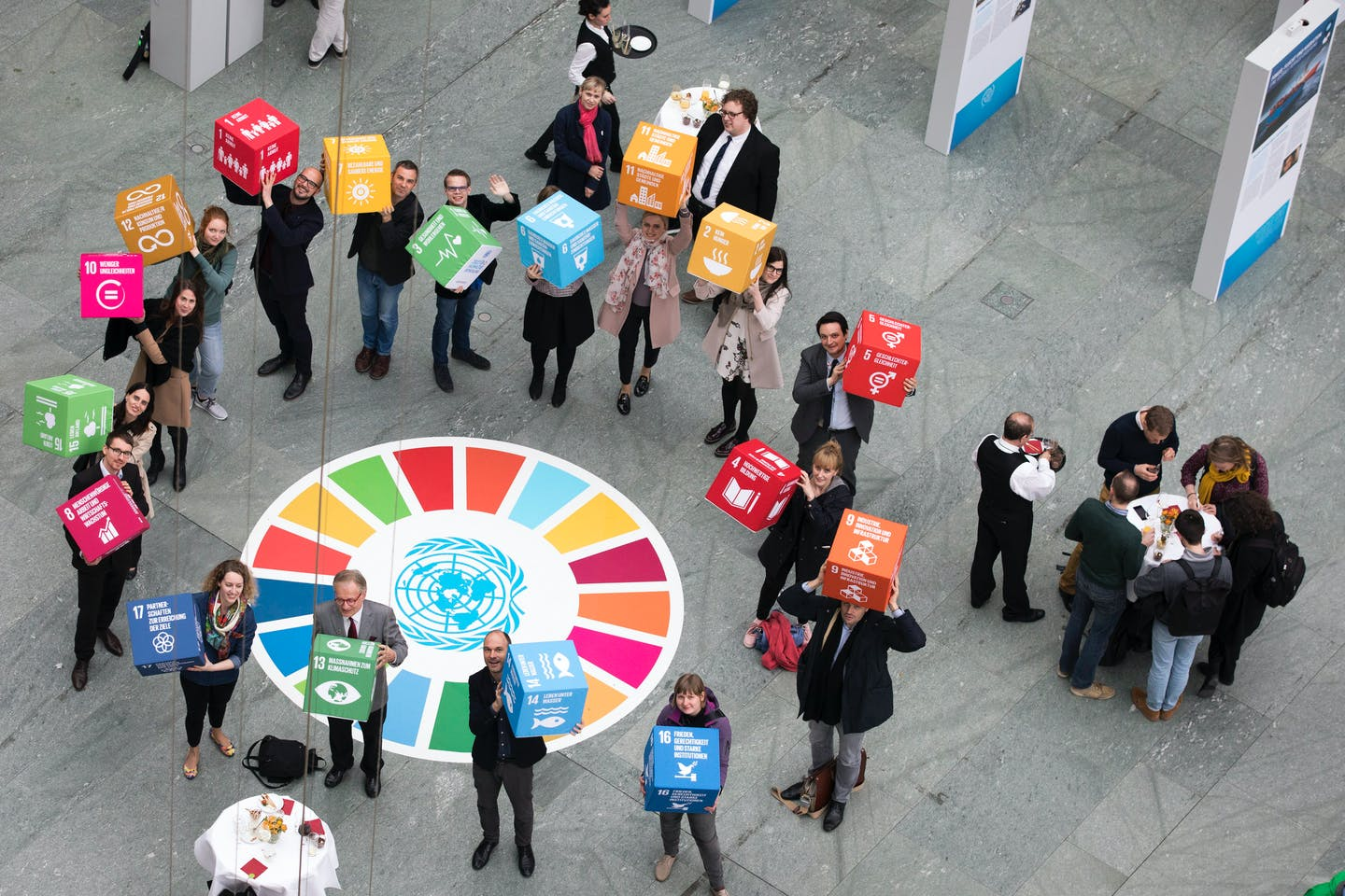 SDGs exhibition in Berlin, Germany
