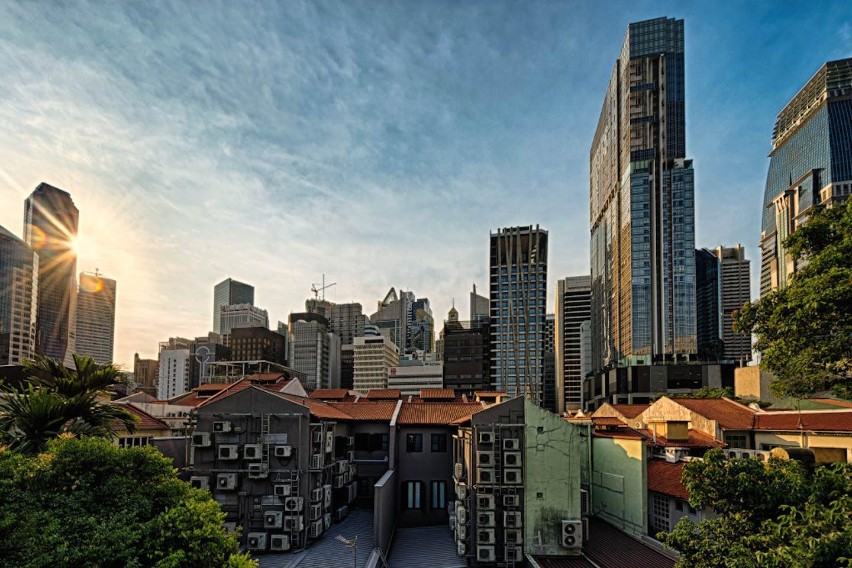 A Singapore sunrise