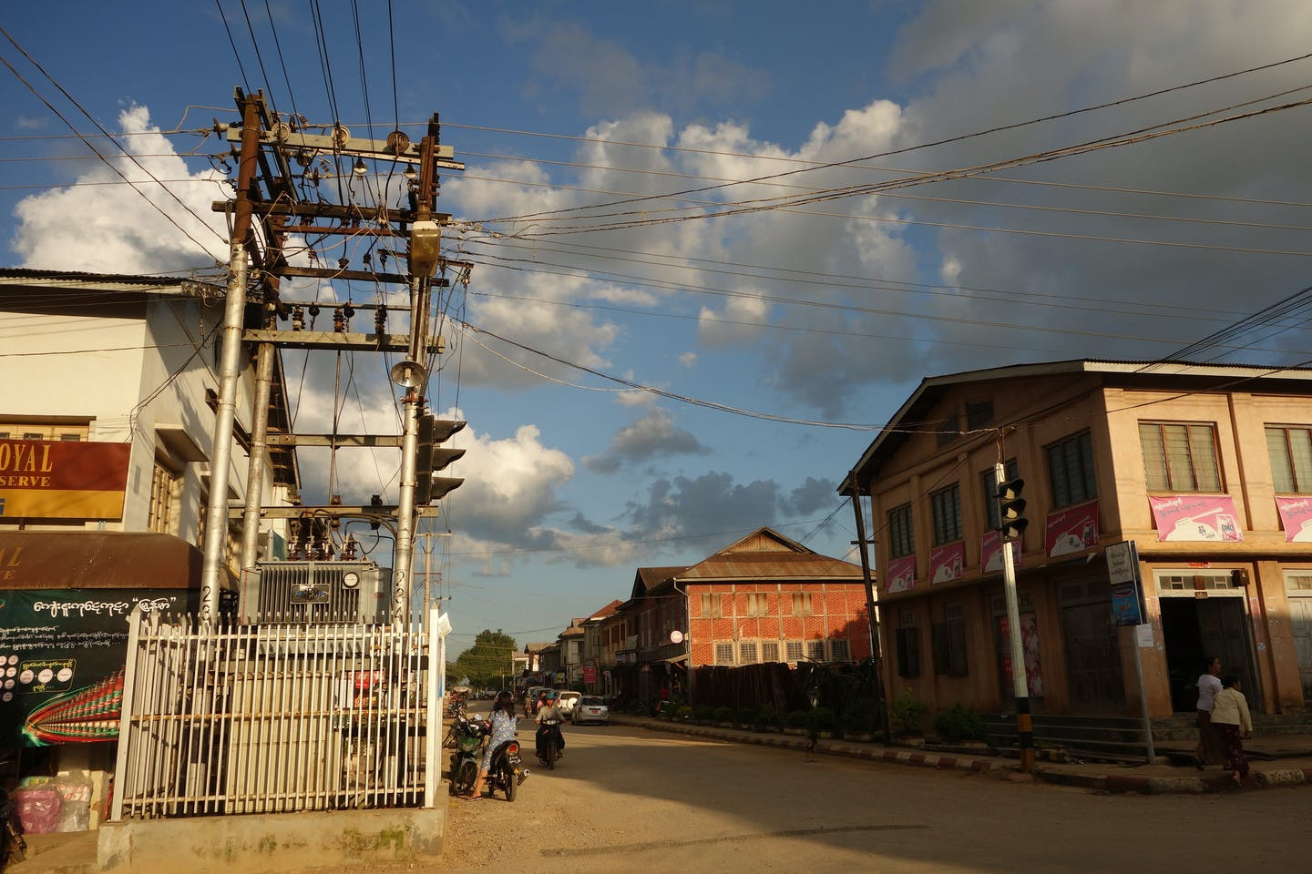 Myanmar substation