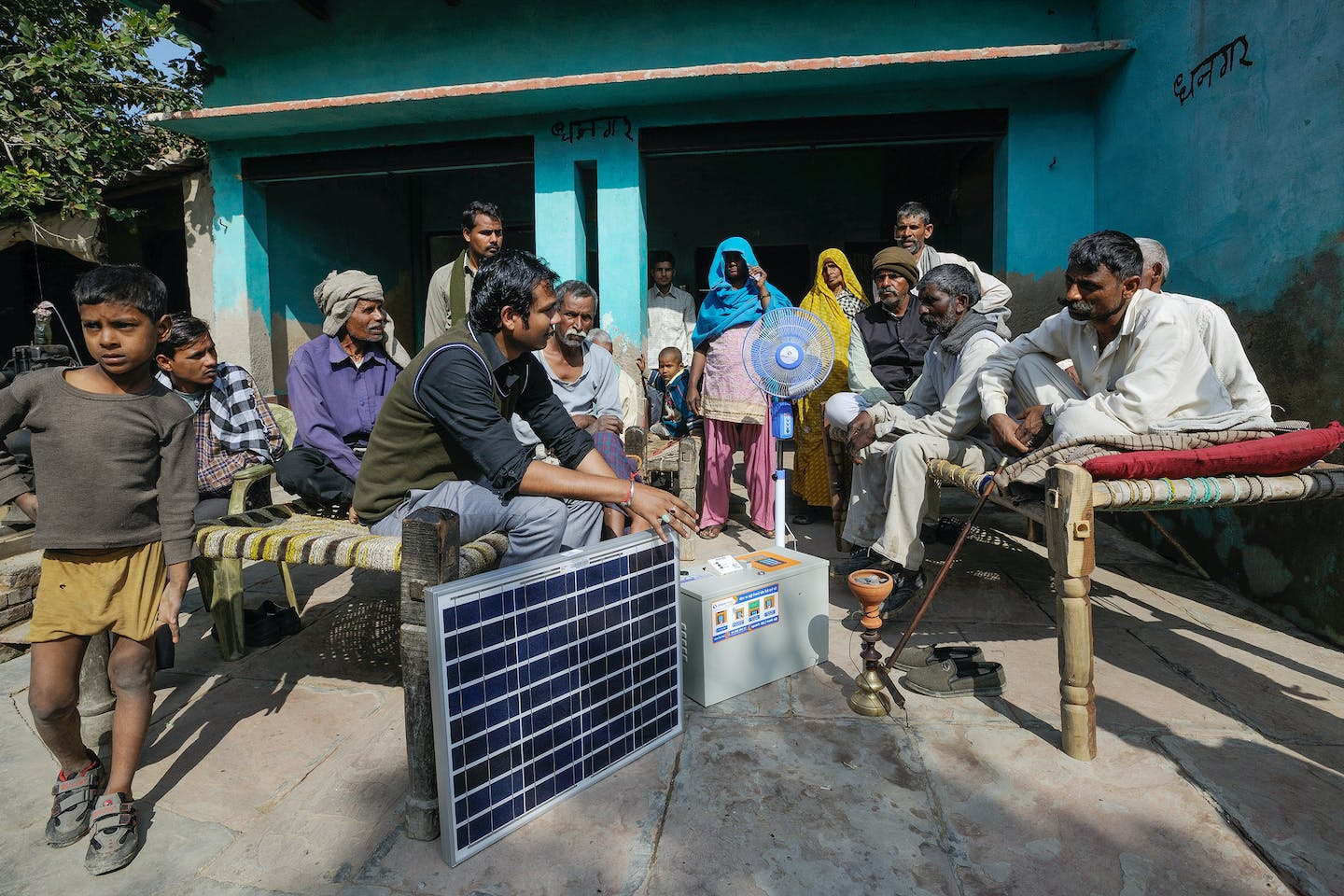 Off Grid Pay-As-You-Go Solar Power Project in India