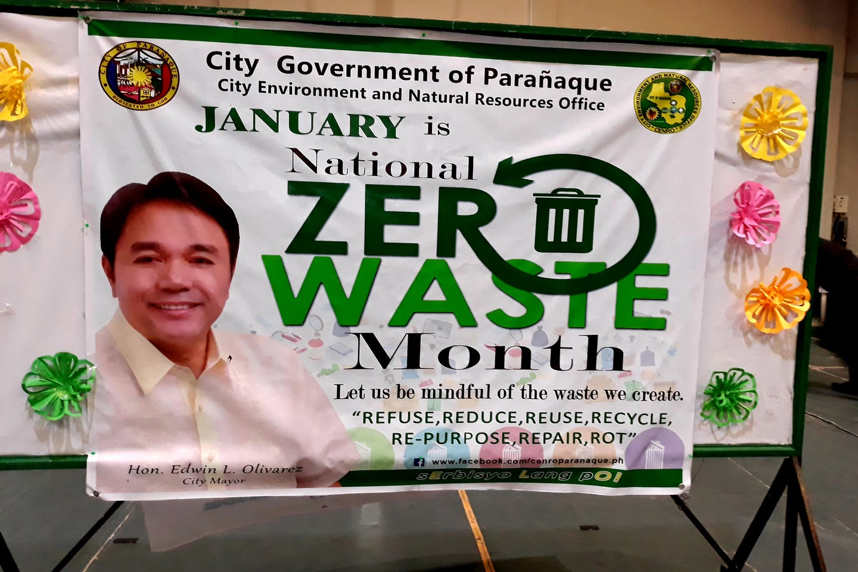 paranaque zero waste month