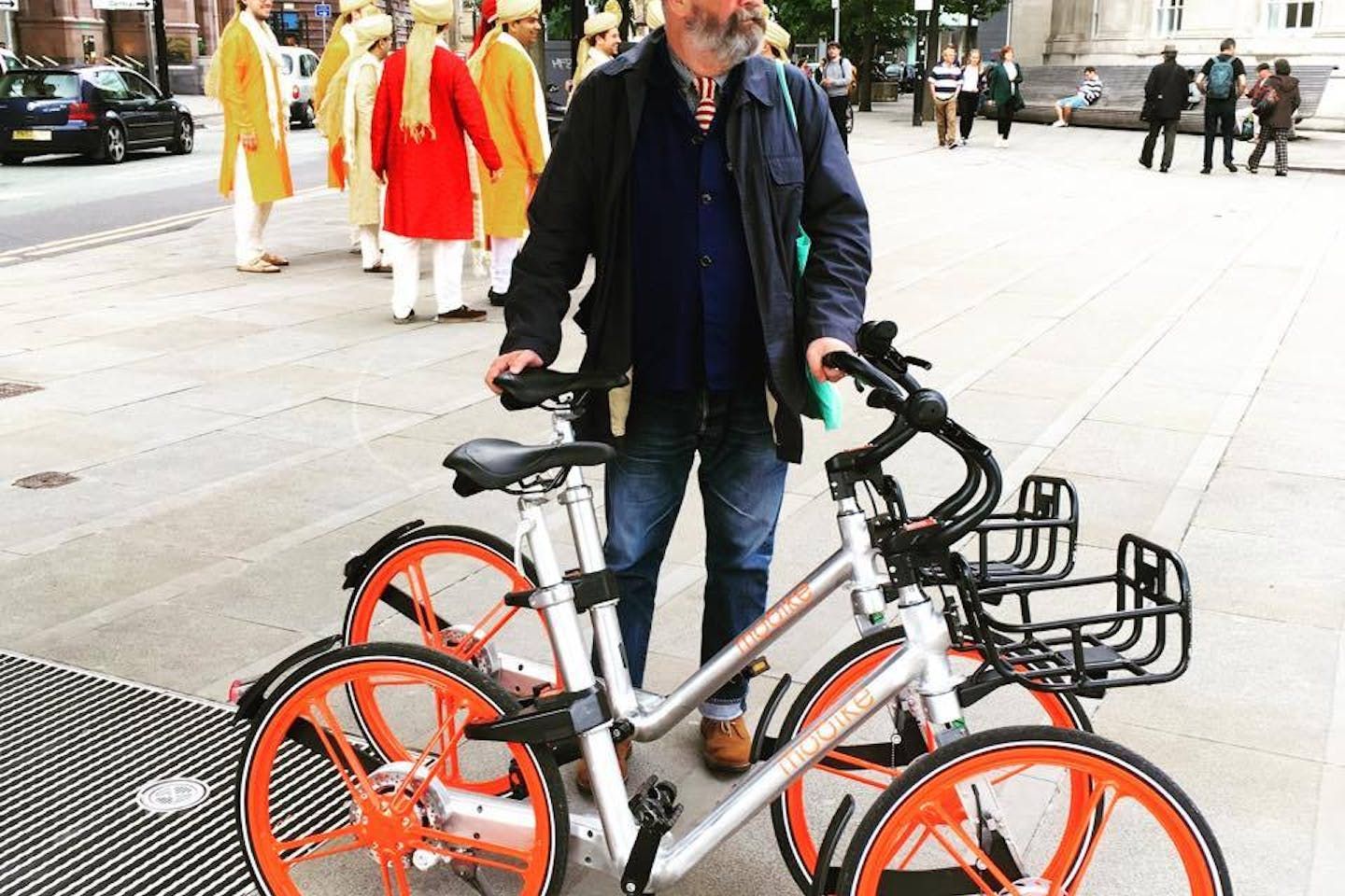 Mobike takes traction in UK