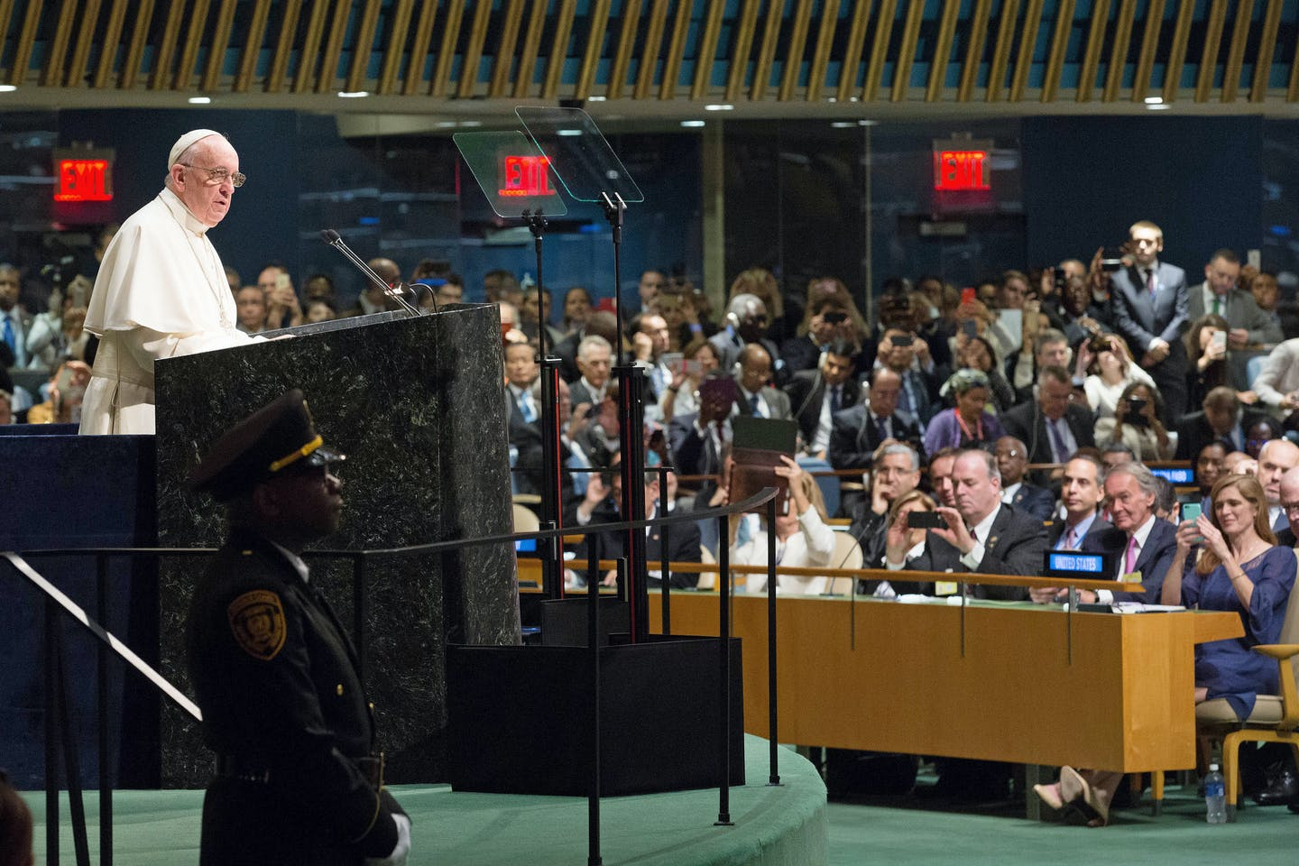pope addresses UN SDGs summit