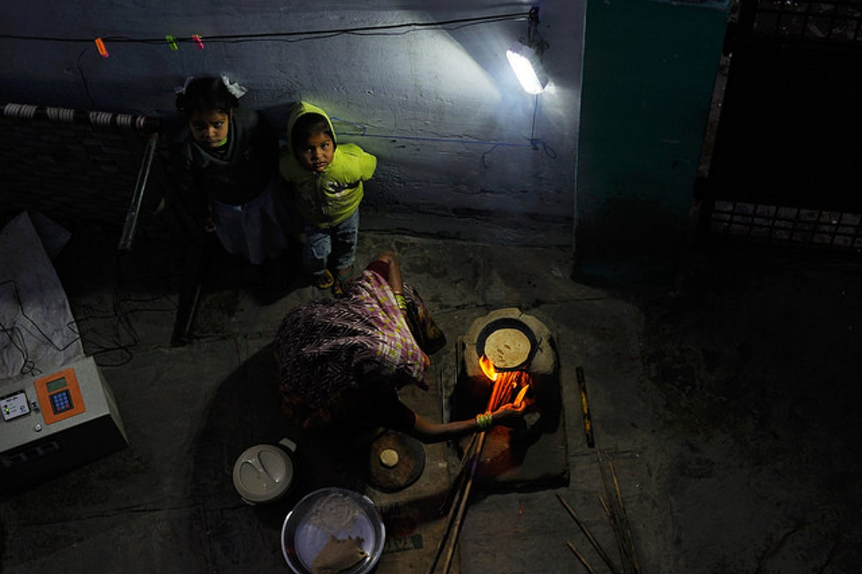 pay-as-you-go solar powered home in Uttar Pradesh