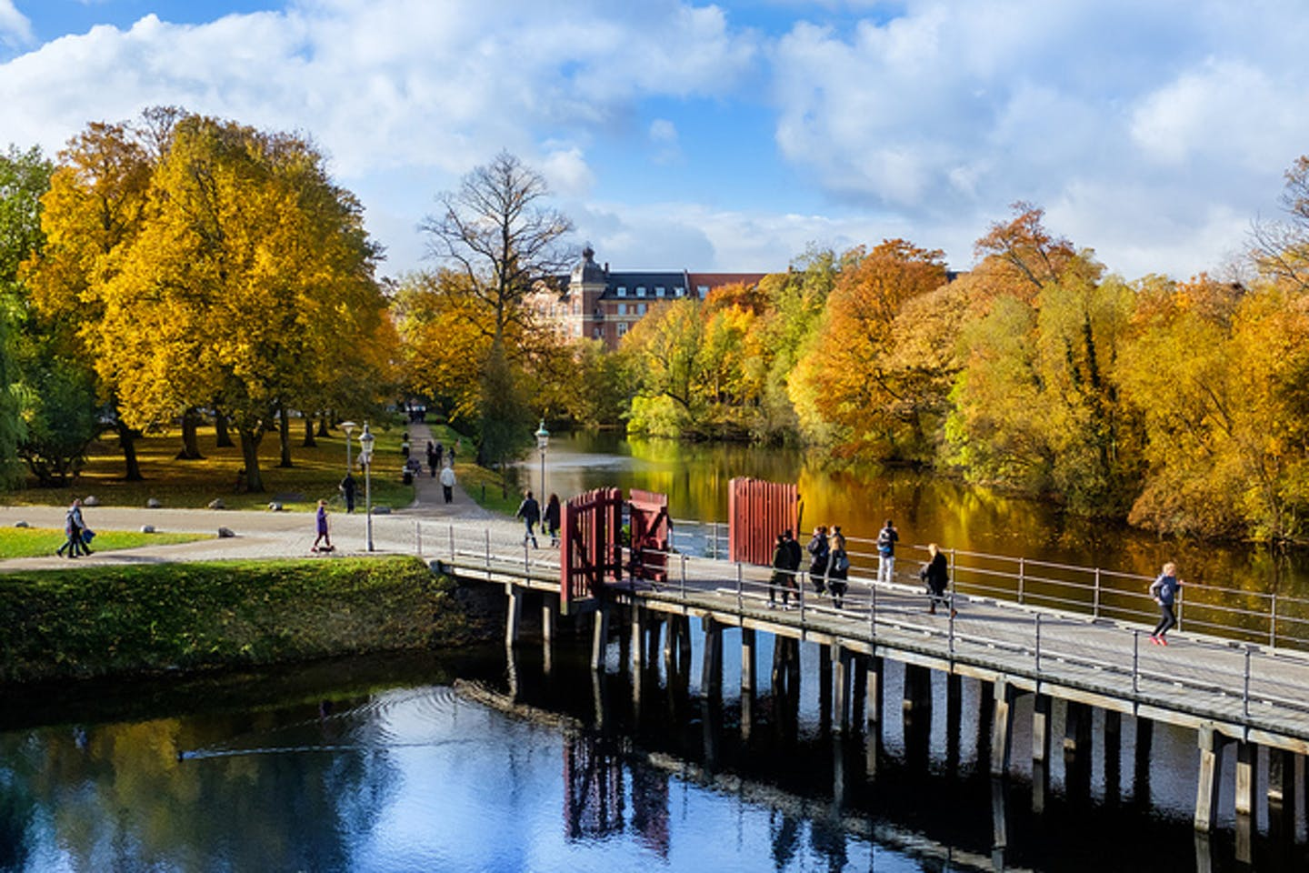 Autumn in Copenhagen, Denmark