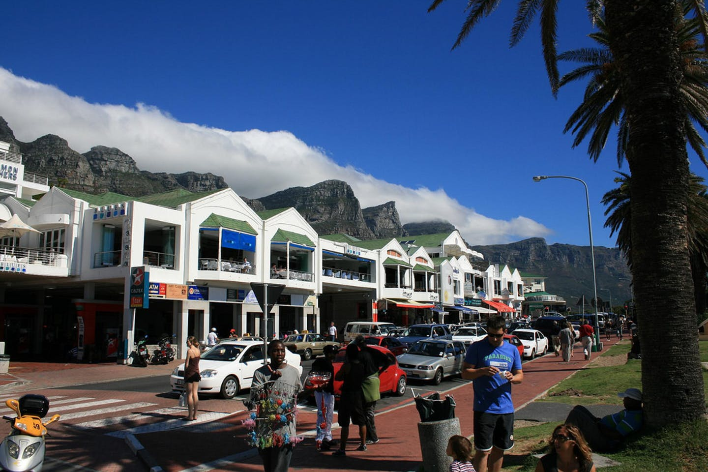 A street in Cape Town, South Africa