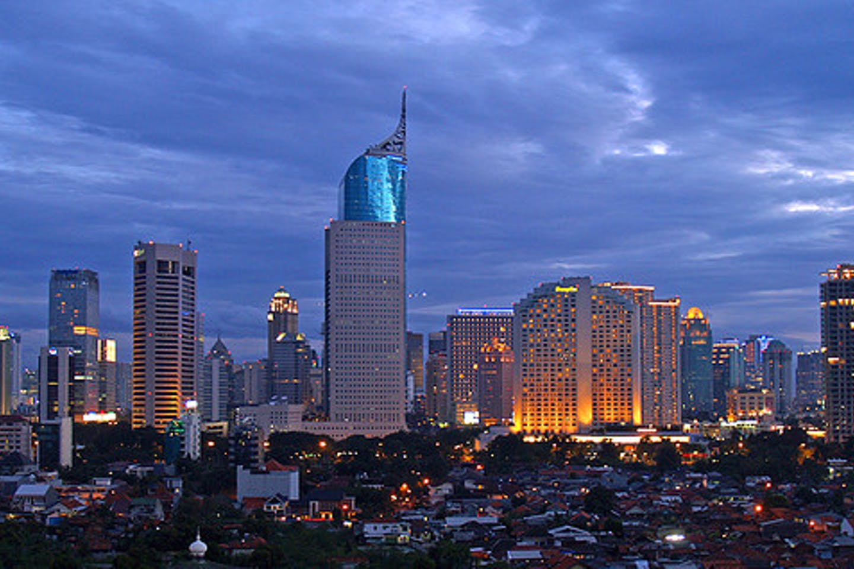 Jakarta skyline flickr