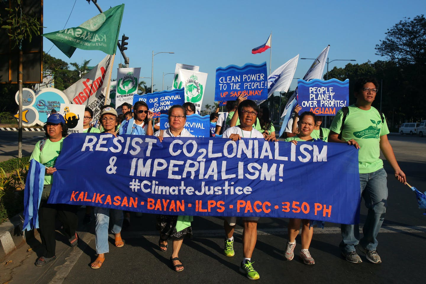 PH climate justice campaigners