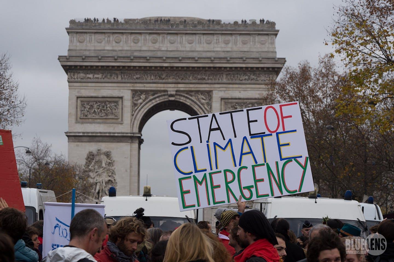 COP21 protest