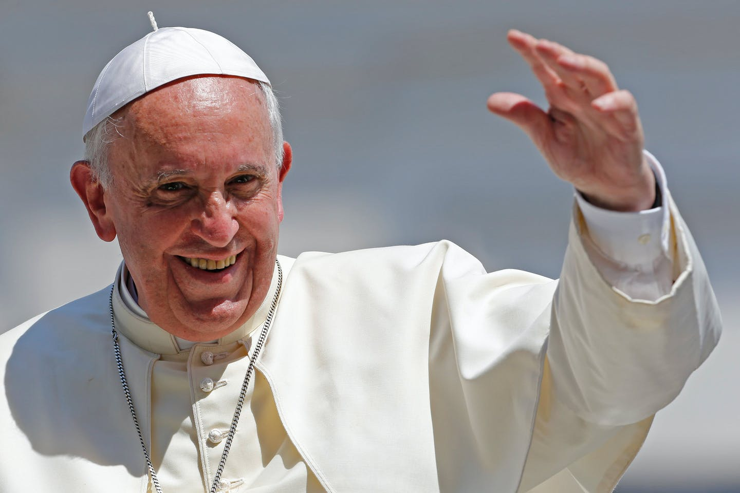 Pope Francis, head of the Catholic Church