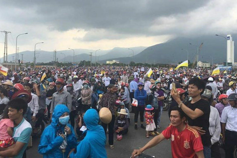 Formosa protesters