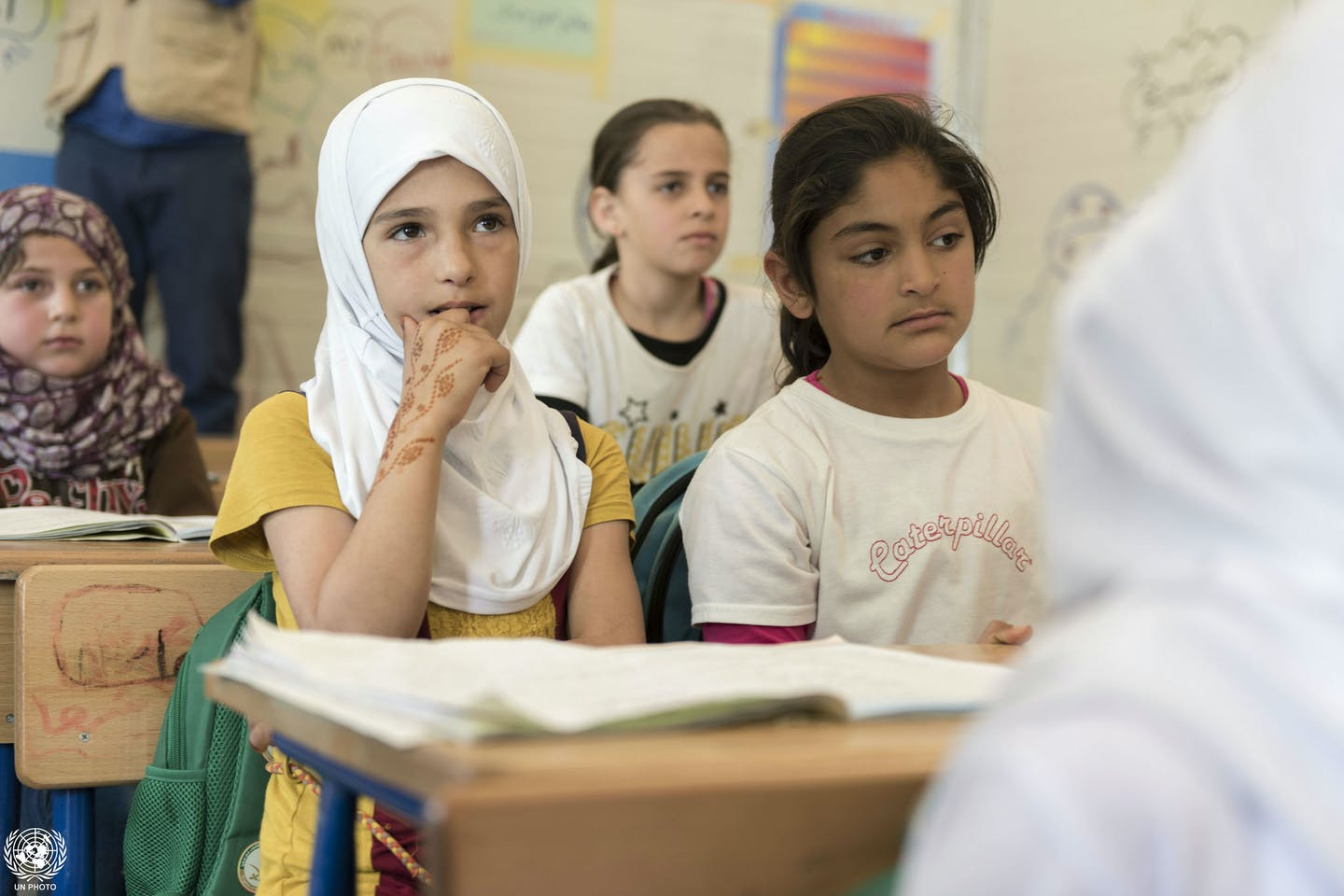 zaatari camp education