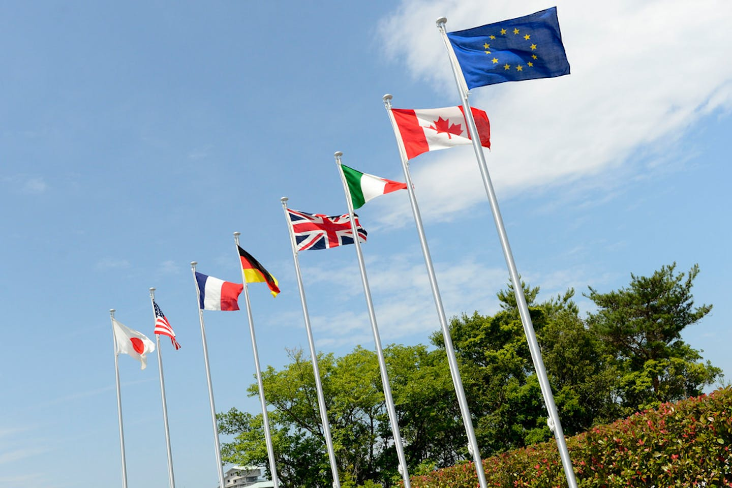 g7 flags UK
