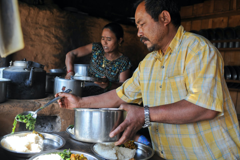 rural nepal eatery