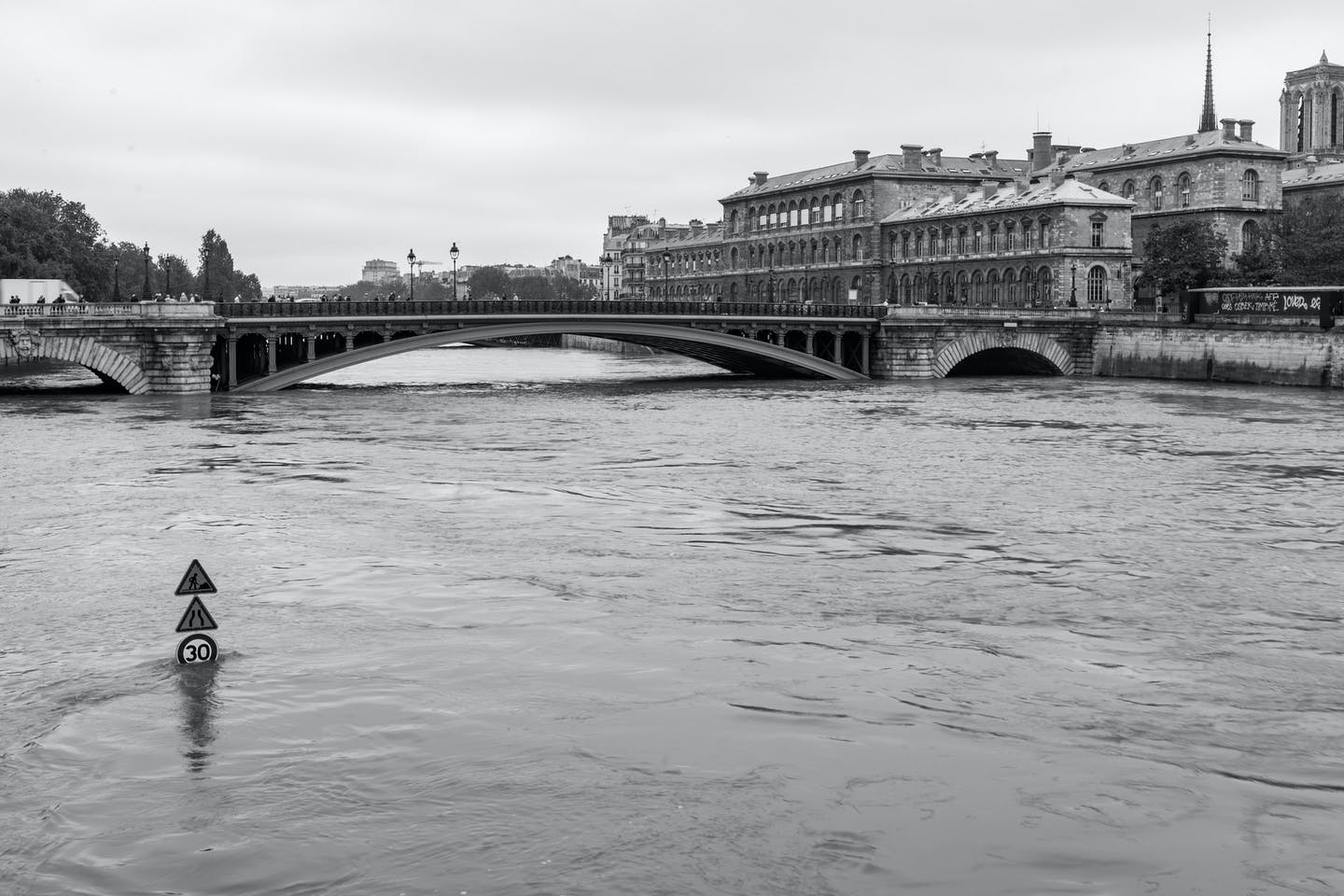 The river Seine in France