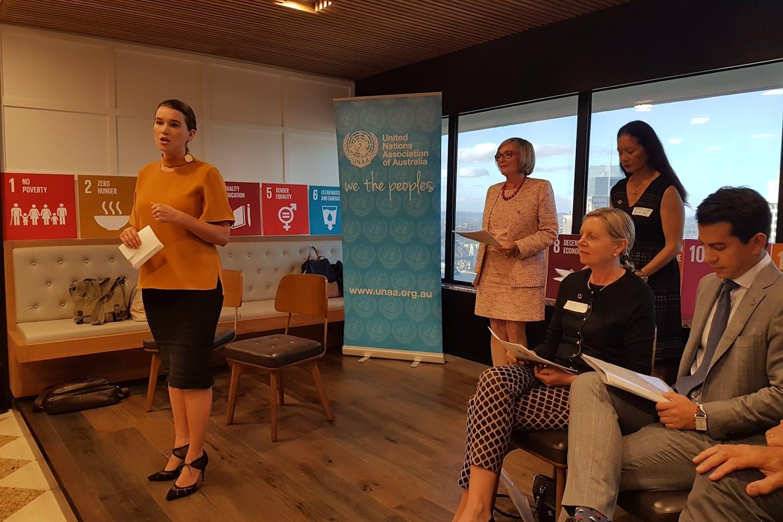UNAA SDG event speakers