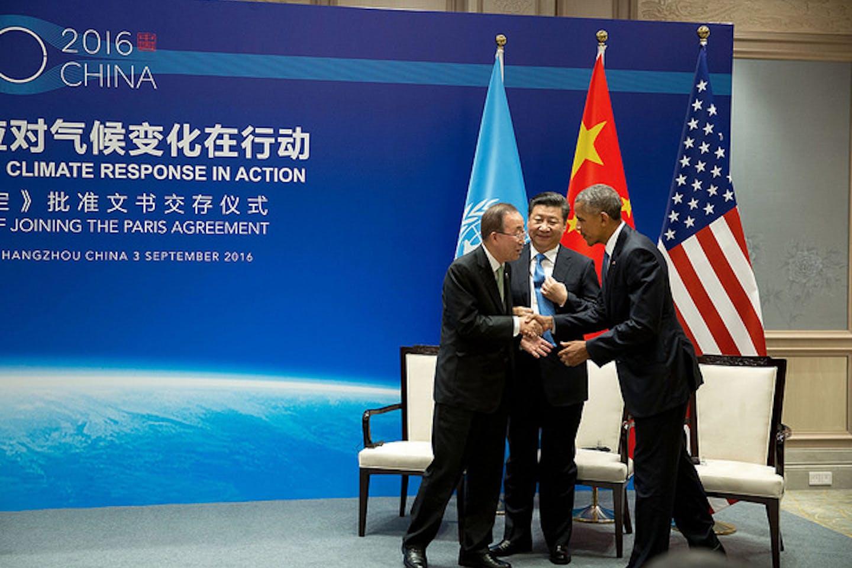 US-China on Paris Agreement
