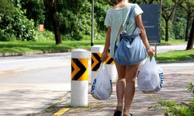 How can Singapore kick its plastic bag habit?