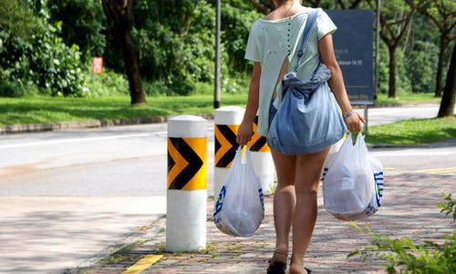 How can Singapore kick its plastic bag habit?