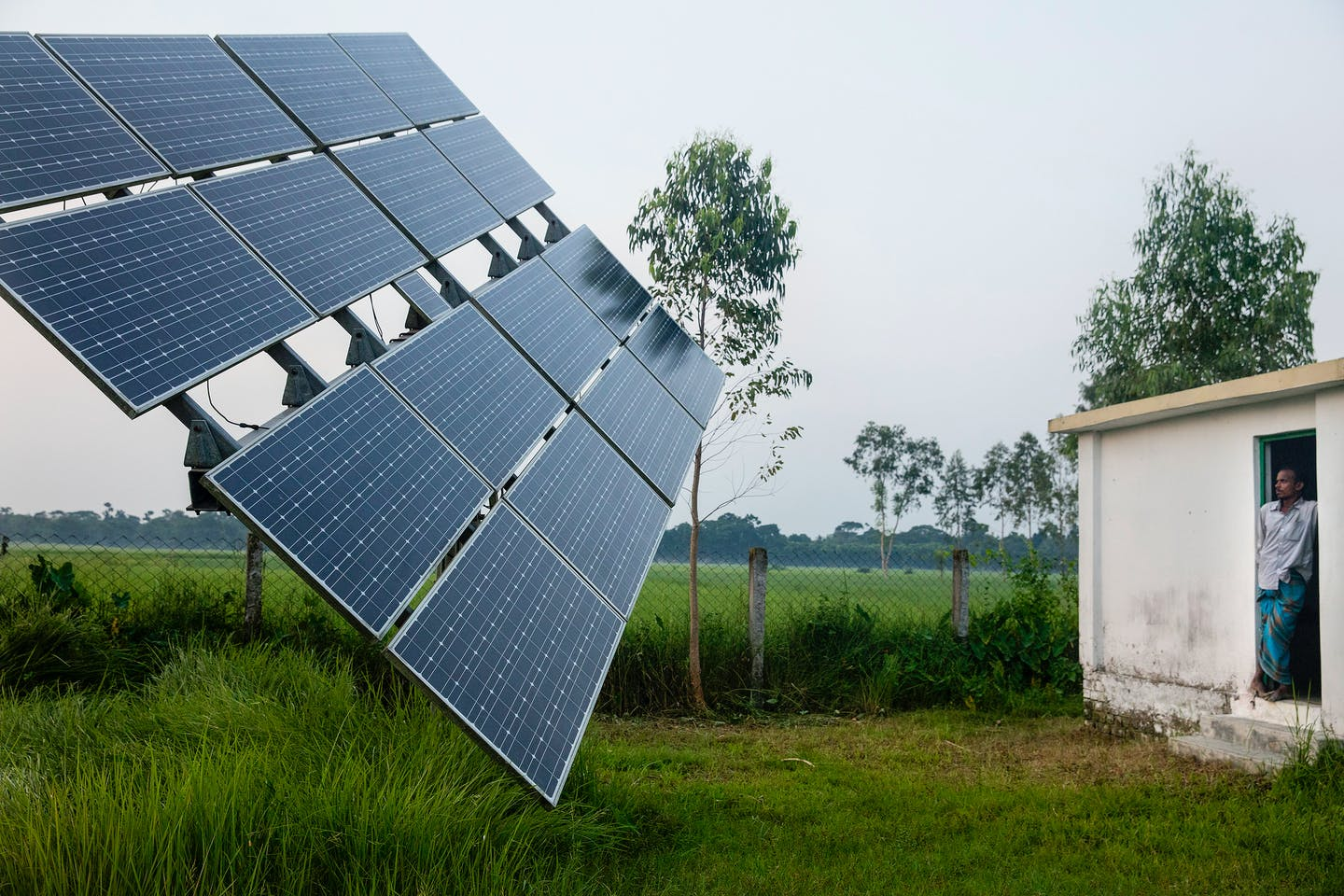 Solar power irrigation in Bangladesh