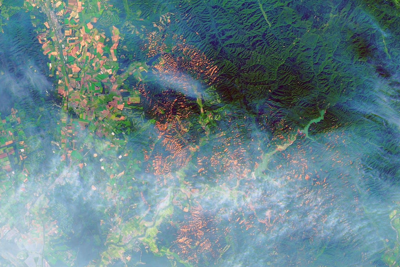 satellite image hokkaido japan