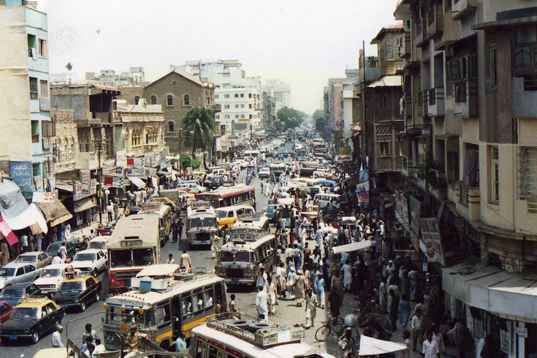 pakistan traffic