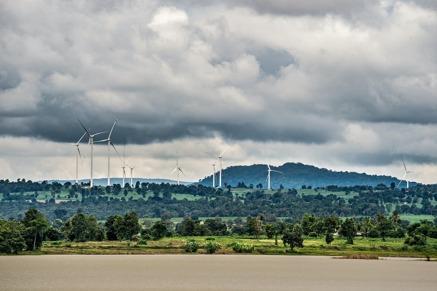 chaiyaphum wind farm thailand