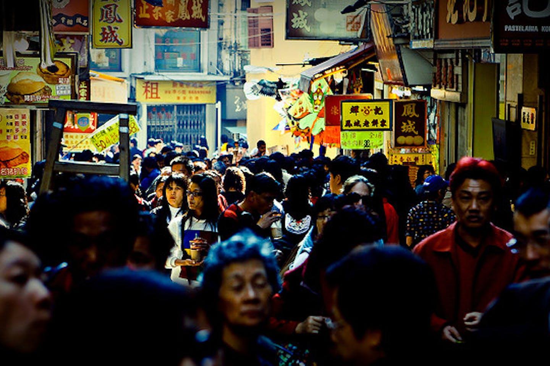 populated Macau