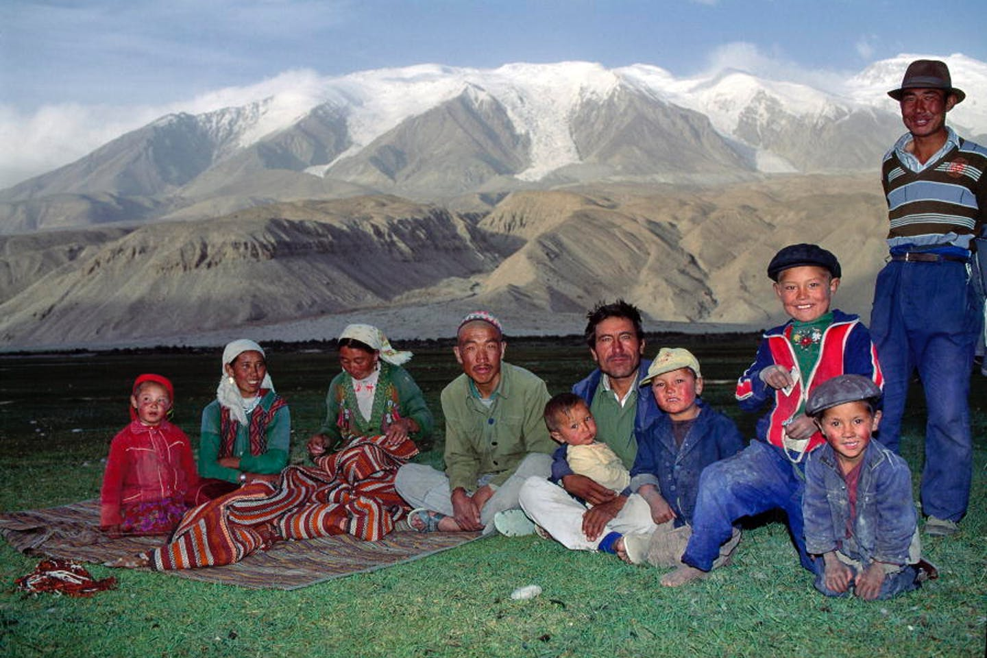 chinese indigenous family