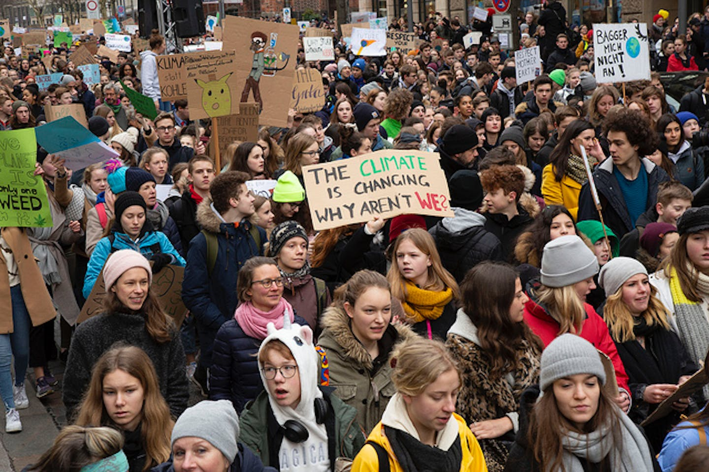 student climate strikes