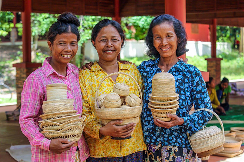 handicrafts producers in Cambodia