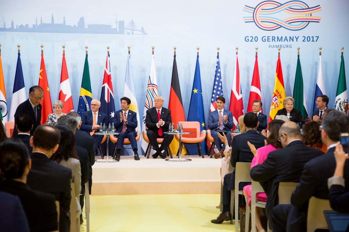 Trump at G20 Germany