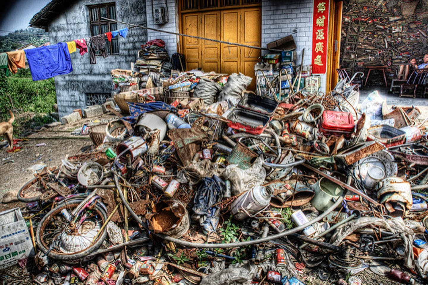 informal trash collection and recycling in China