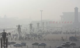 The impact of polluted air on life expectancy