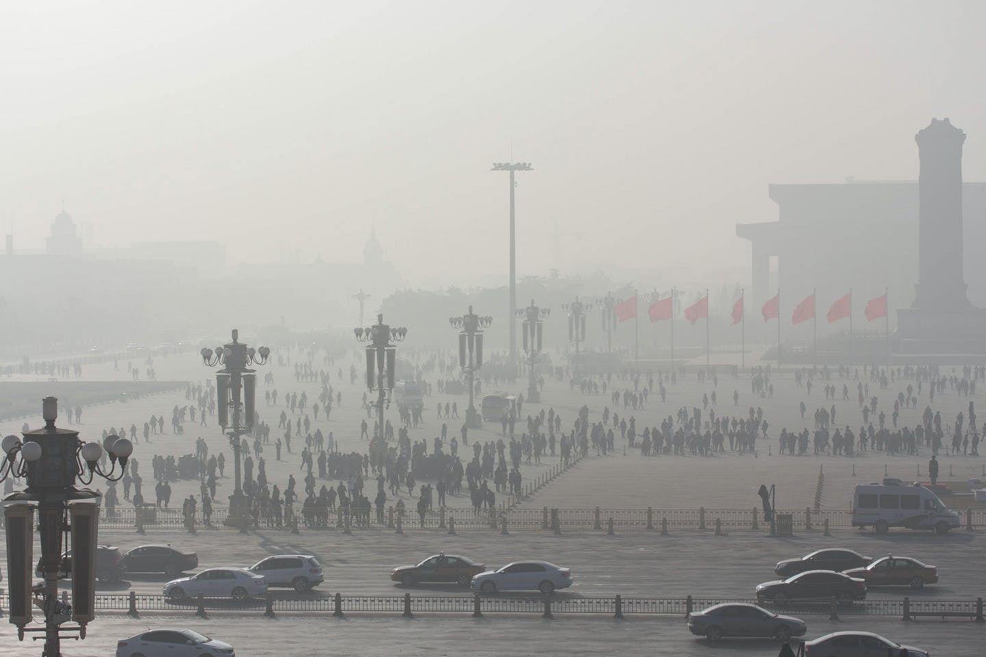 New Year's Day 2017 smog in Beijing