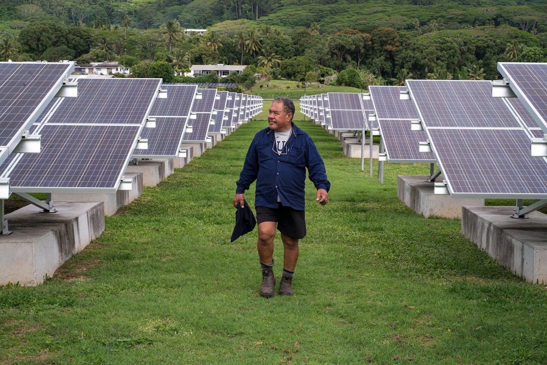 solar in Cook Islands