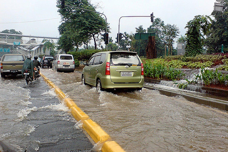jakarta floods circa 2007