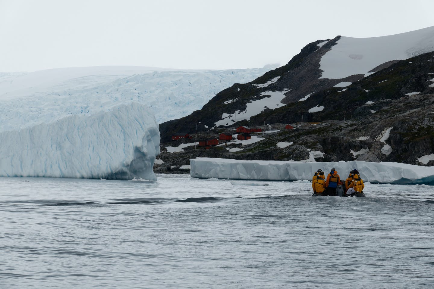 explorers in antarctica