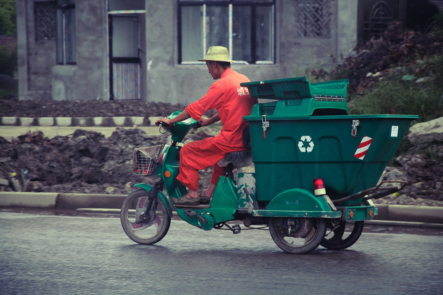 recycling tricycle china