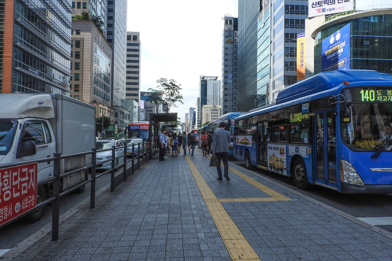 buses seoul korea