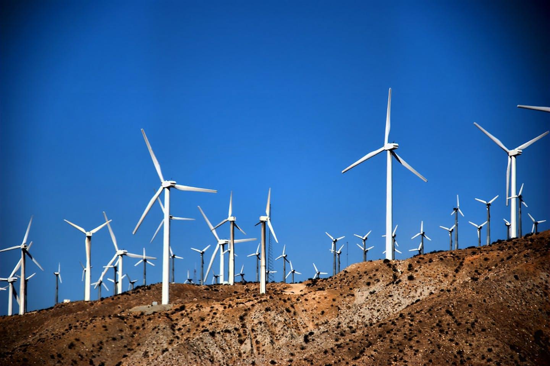 windfarm palm springs california