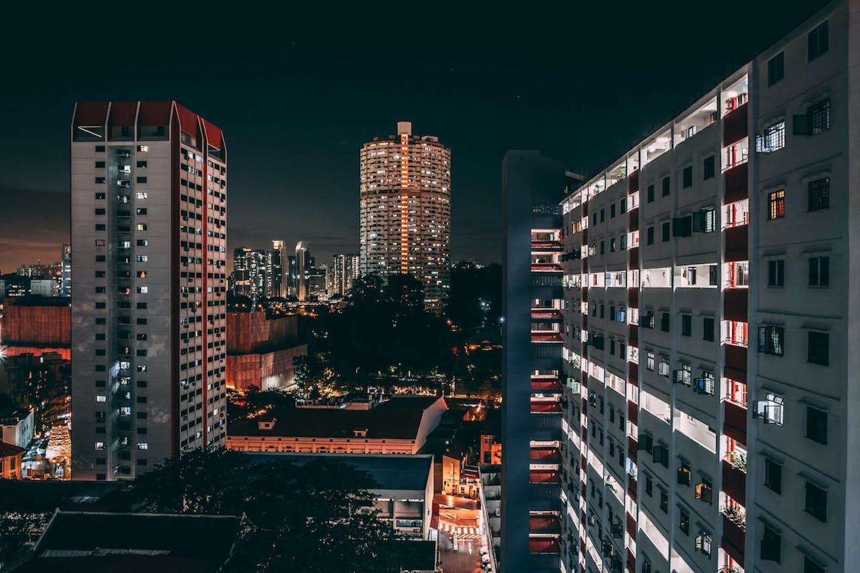 singapore night light