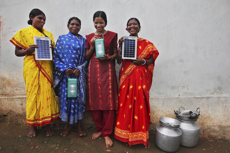 barefoot solar engineers of India