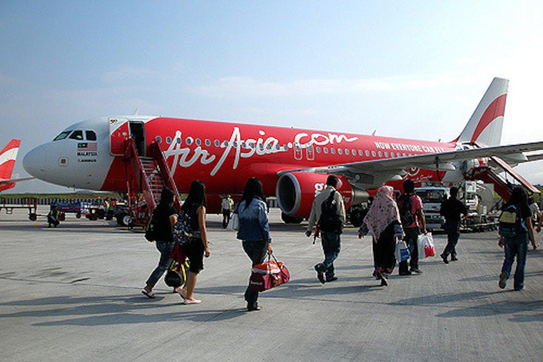 Air Asia passengers