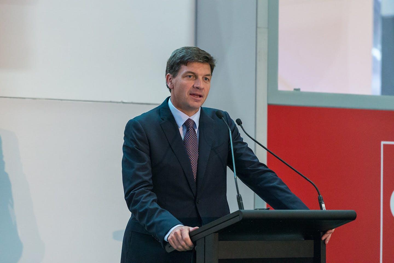 Australian energy minister Angus Taylor