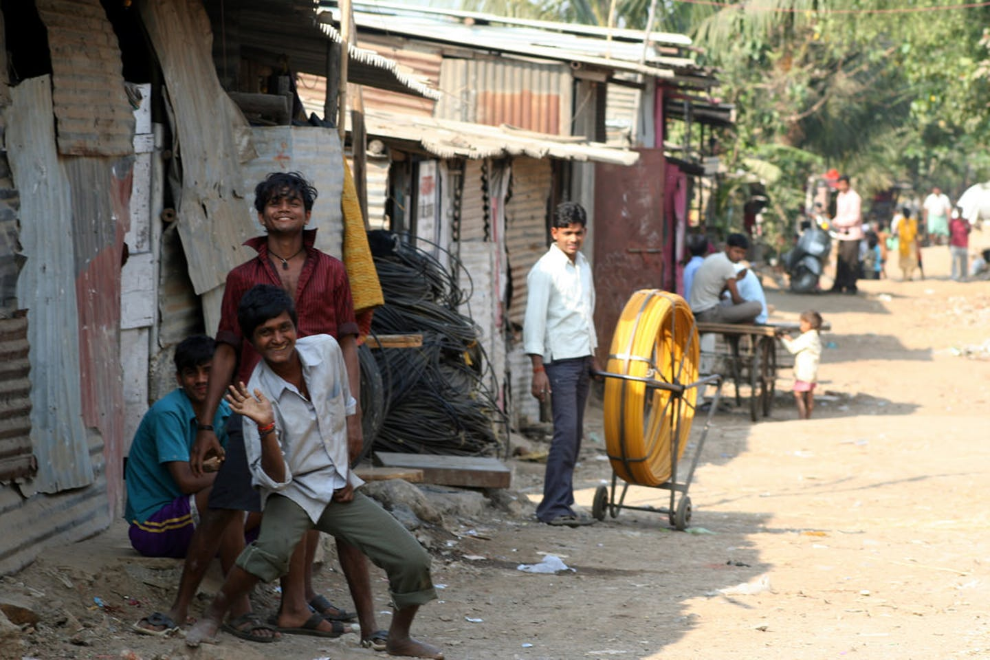 slum dwellers in india