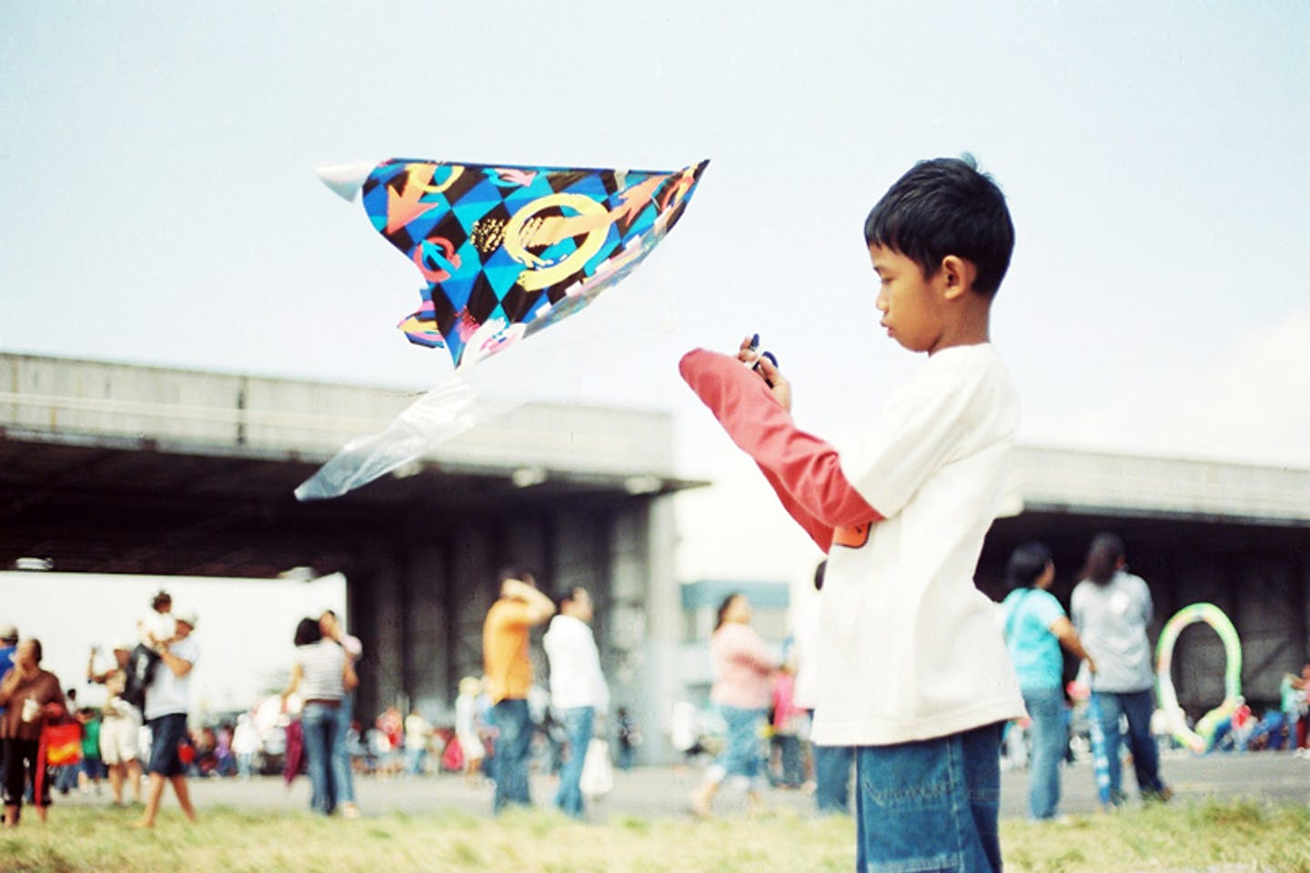 KID and his kite