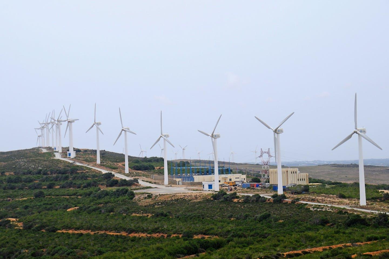 tunisia wind turbine farm