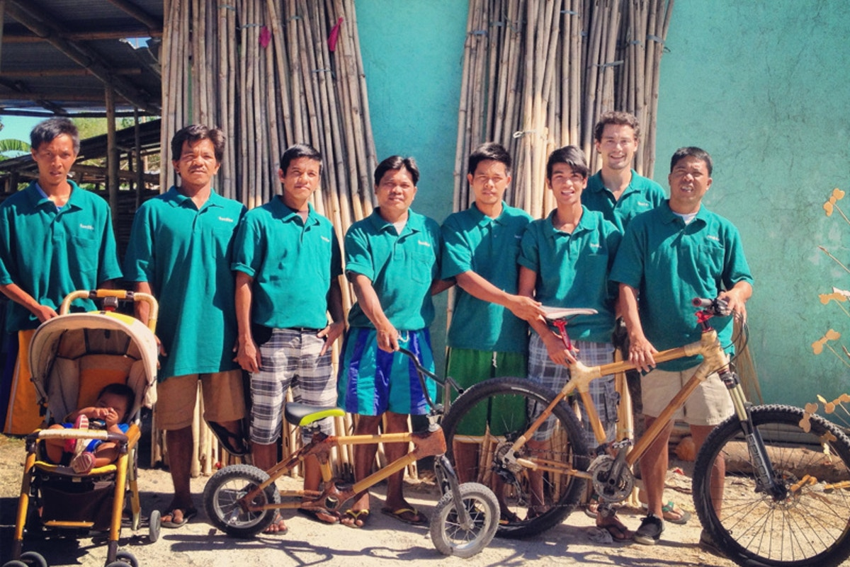 Philippine Bamboo Bike Going On An Epic Trip News Eco Business Asia Pacific
