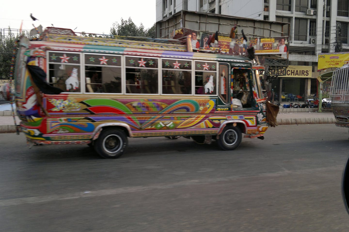 pakistan karachi bus
